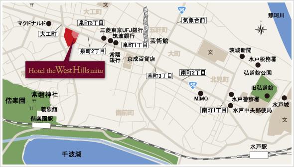 ホテル周辺拡大マップ