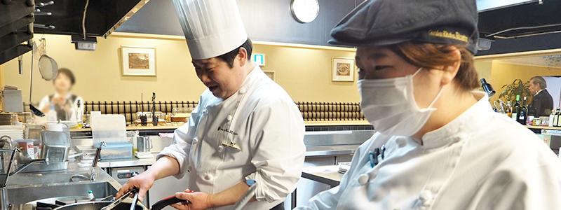 レストラン調理スタッフ(正社員)
